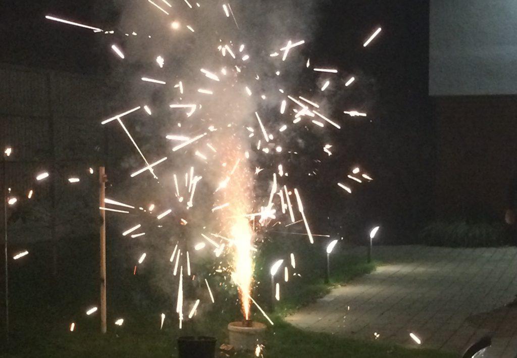 Fireworks at Broadoaks