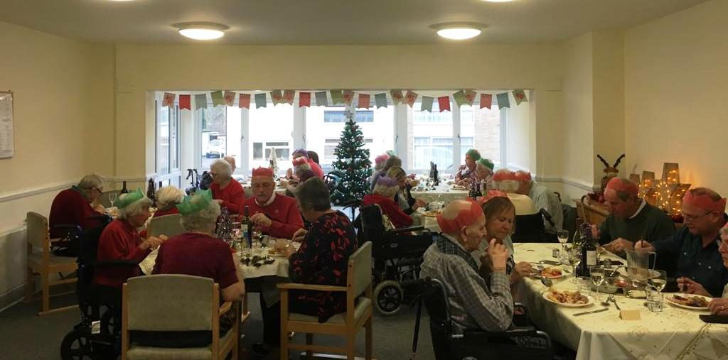 Christmas celebrations at Broadoaks