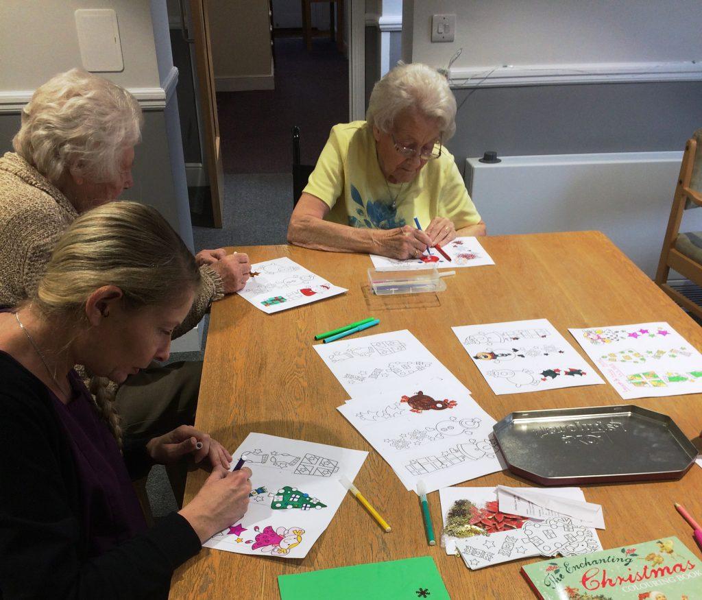 Christmas crafts at Broadoaks