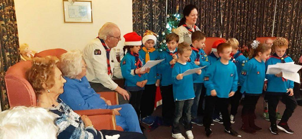 4th Rochford Scout Group entertain Broadoaks