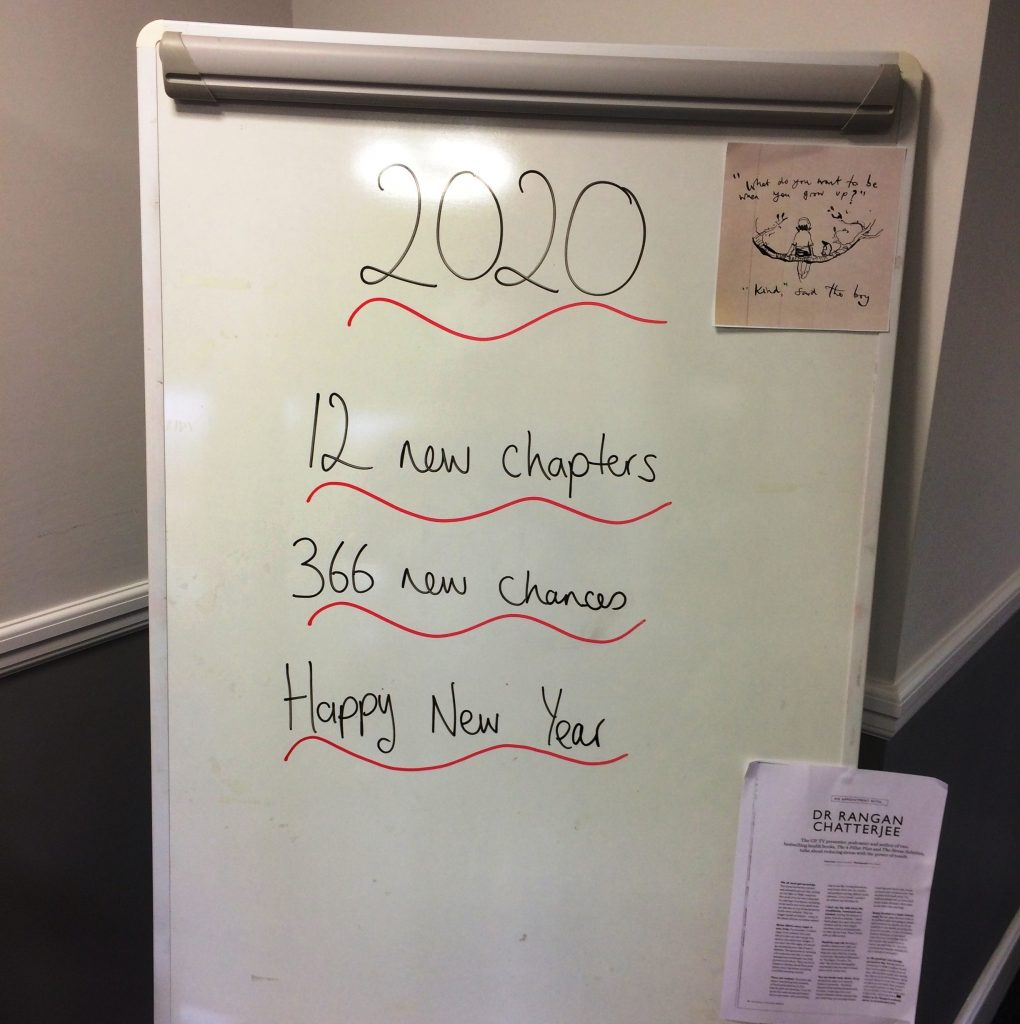 What does 2020 mean to you?
