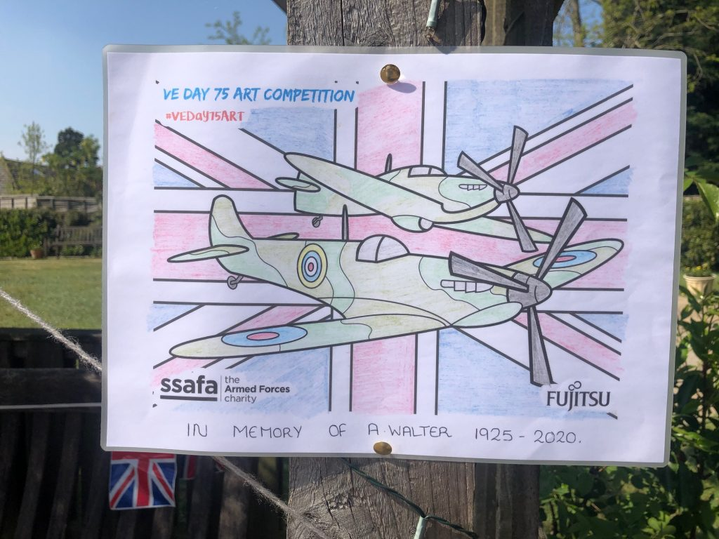 VE Day 75 Art at Hill House